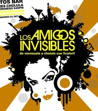 <center><strong>LOS AMIGOS INVISIBLES</strong></center>